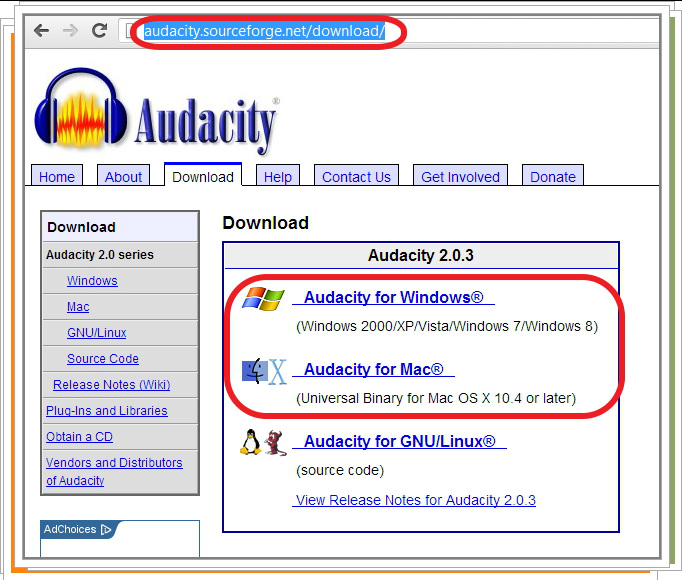audacity download sourceforge net download lengkap
